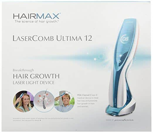 HairMax Ultima 12 LaserComb