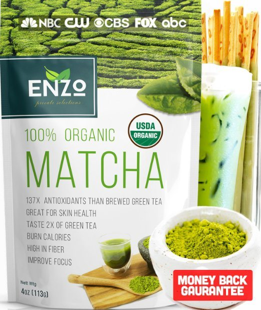 Enzo'sMatcha Green Tea Powder