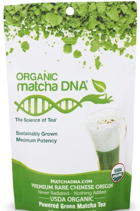 MatchaDNA Organic Powdered Matcha Green Tea