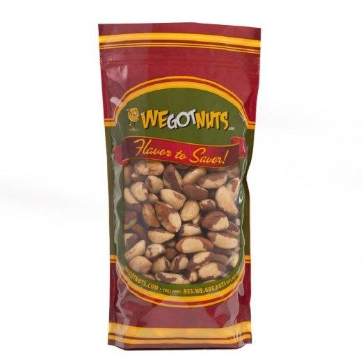 Brazil Nuts - Whole, Shelled, Raw, Natural, We Got Nuts