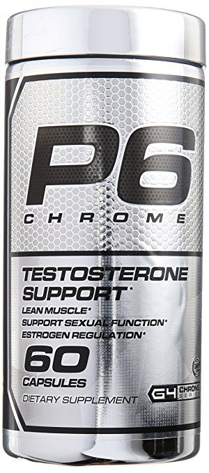 Cellucor P6 Chrome Testosterone Booster Supplement