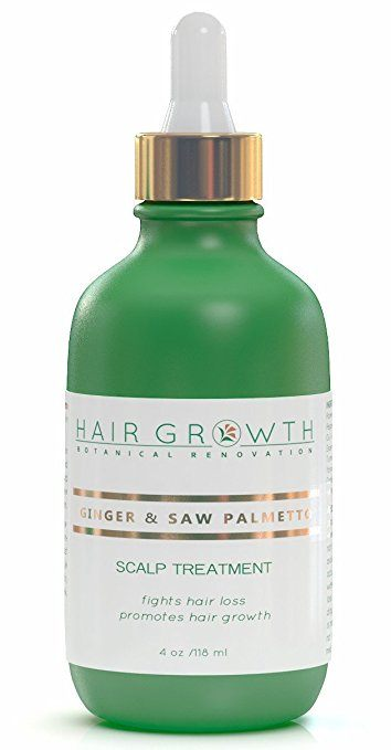 Ginger and Saw Palmetto Scalp Treatment by Hair Growth Botanical Renovation