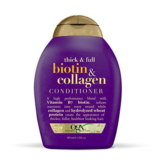 OGX Thick & Full Biotin & Collagen Conditioner - Biotin for Hair Growth