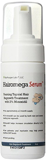Hairomega Serum 2% Minoxidil Foam
