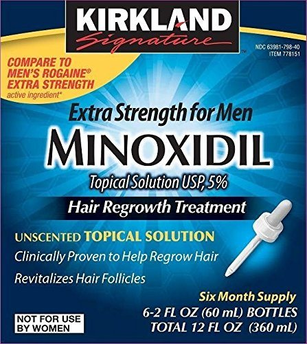 Minoxidil for Men 5% Minoxidil Hair Regrowth Treatment