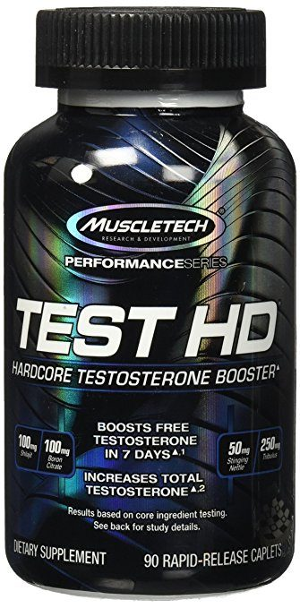 MuscleTech Test HD, Hardcore Testosterone Booster