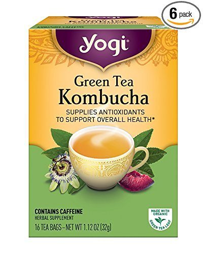 Yogi Teas Kombucha Green Tea