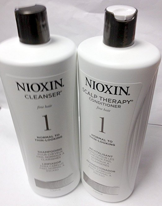Nioxin System 1 Cleanser & Scalp Therapy DUO Set