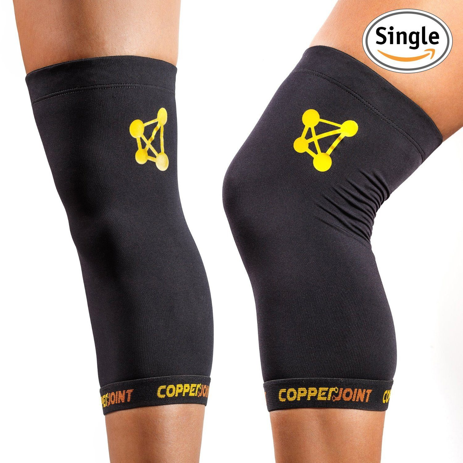 Best Knee Brace for Running - CopperJoint Copper Knee Sleeve