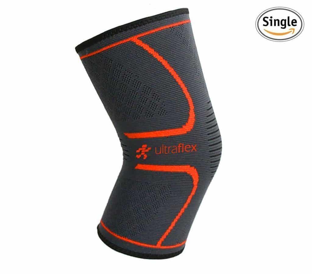 Best Knee Brace for Running - Ultra Flex Athletics Knee Compression Sleeve Support