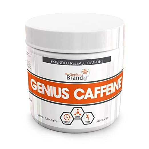 GENIUS CAFFEINE Great Preworkout and Brain Booster