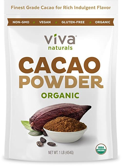 Viva Labs - The BEST Tasting Certified Organic Cacao Powder