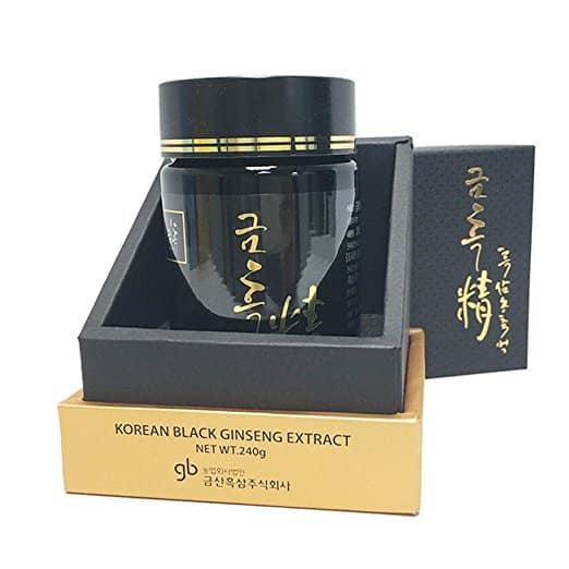 Korean Black Ginseng Extract, 240 gram GeumHeuk