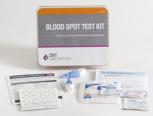 ZRT Insulin Blood Spot Home Test Kit