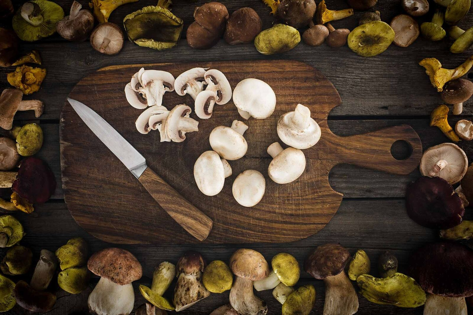 anti-estrogen blocking foods mushrooms