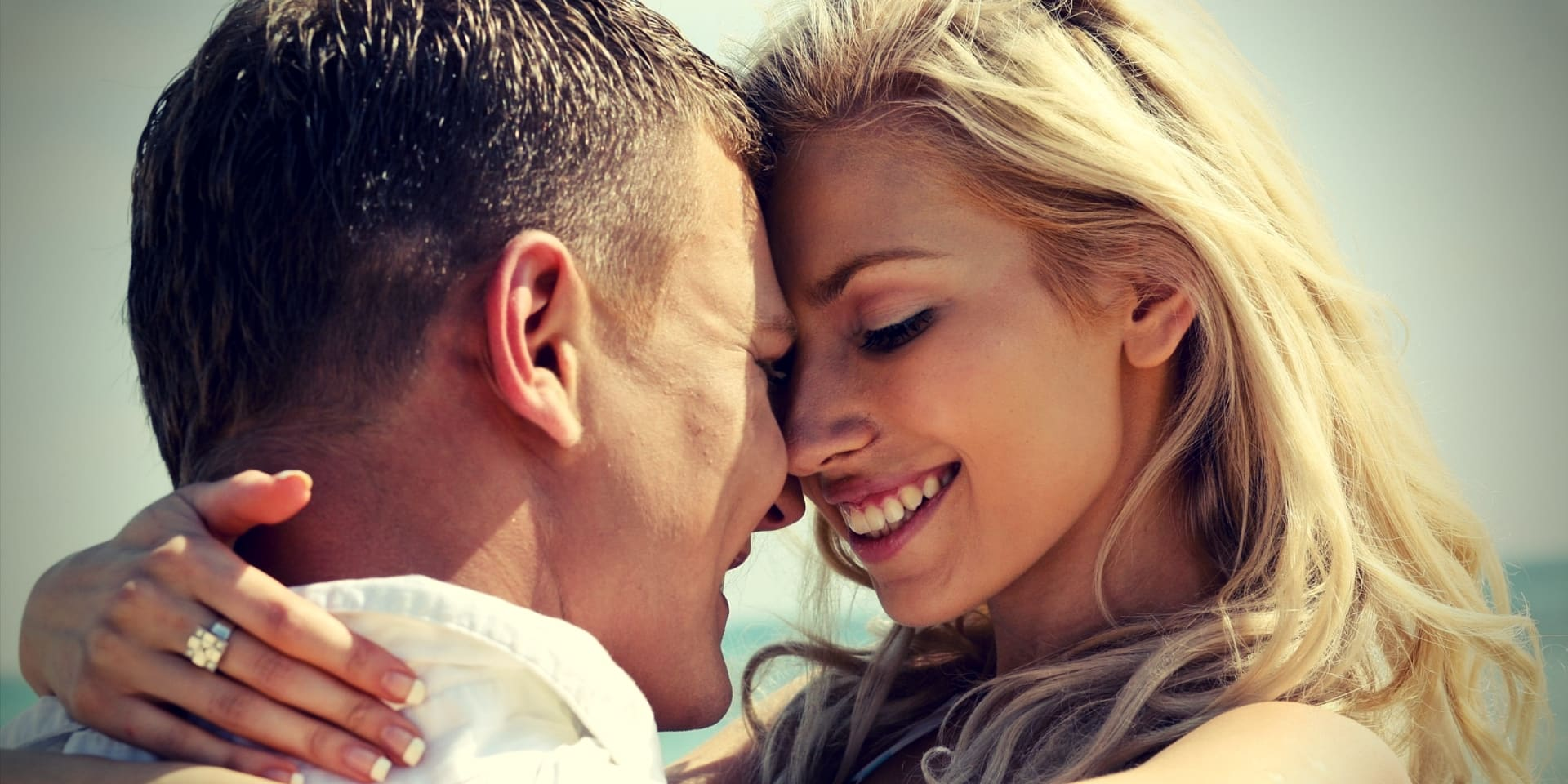 How to Increase Sex Drive in Men Over 40 Mischievous couple embracing