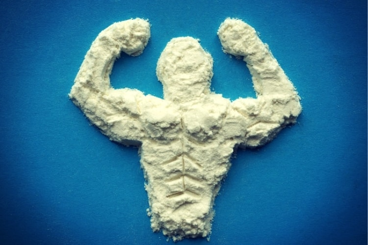 Supplements for bodybuilders, sportmans and healthy eating. Protein