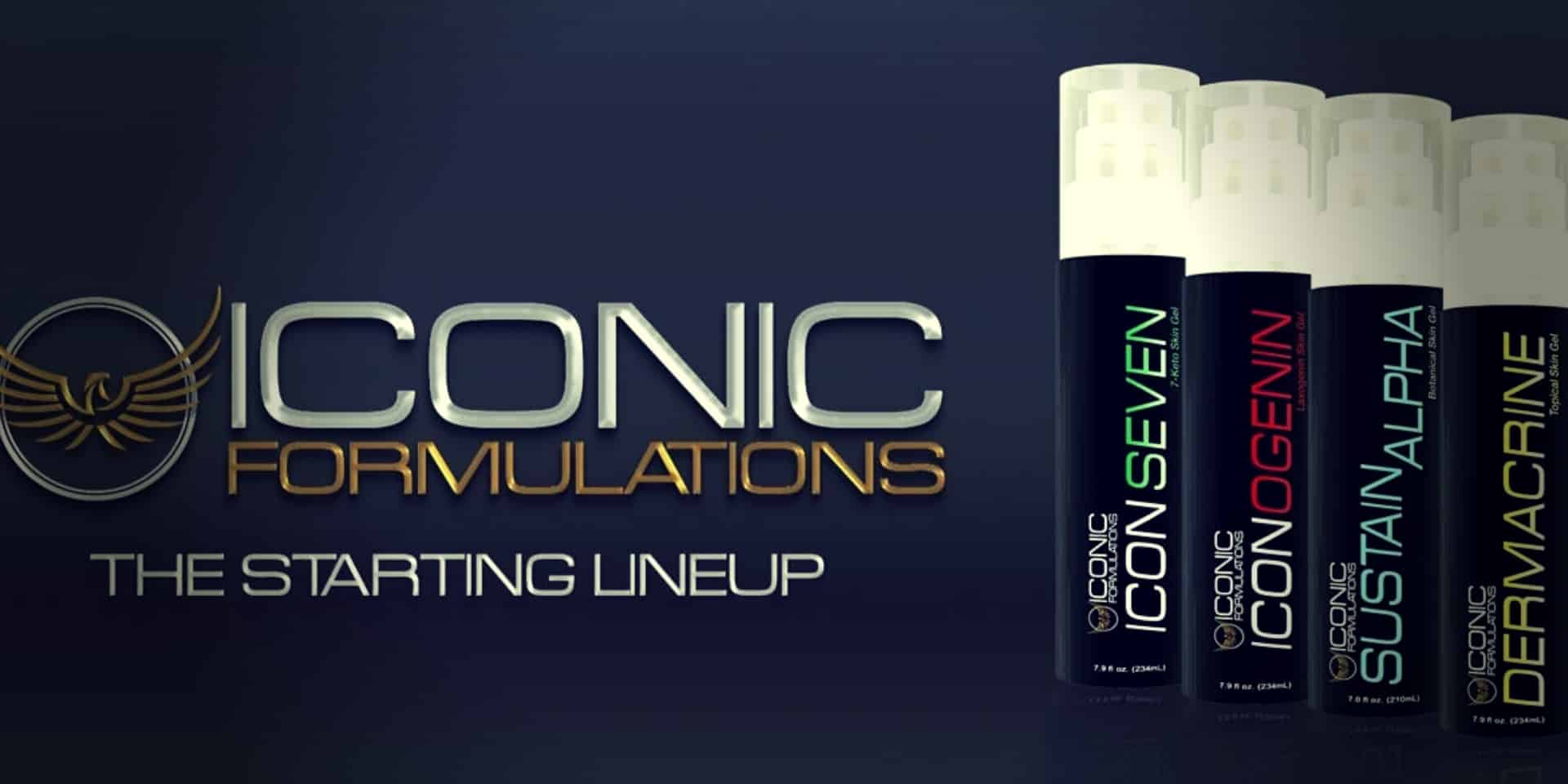 Sustain Alpha Cream starting lineup banner