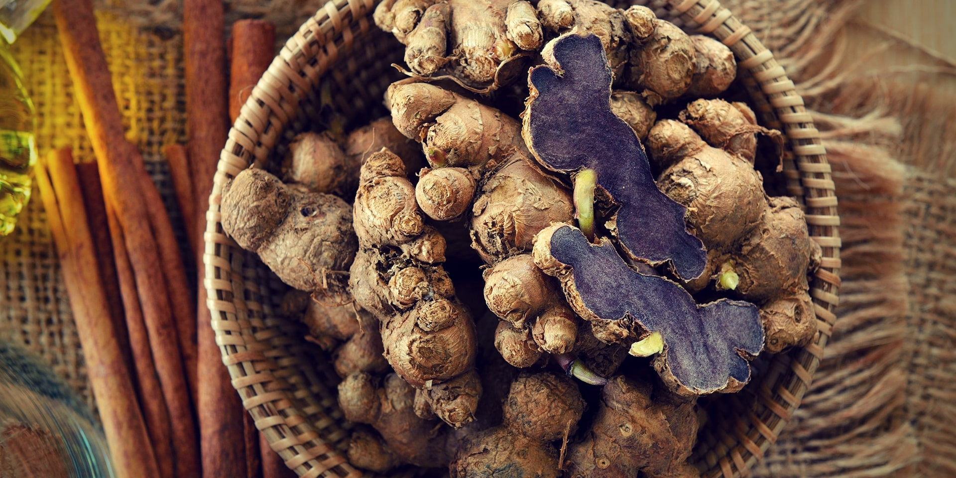 Why Thai Men Have Been Using Black Ginger To Improve Their Vitality for Centuries black ginger on a basket